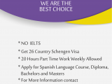 Study in spain,Student visa for spain,spain immogrations visa,spain student visa consultancy,spain immigtations visa consultancy,spain visitor visa consultancy,spain business visa consultancy